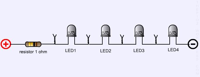 Bikin Sendiri Rangkaian Lampu Led Untuk Lampu Rem Motor Motorblitz