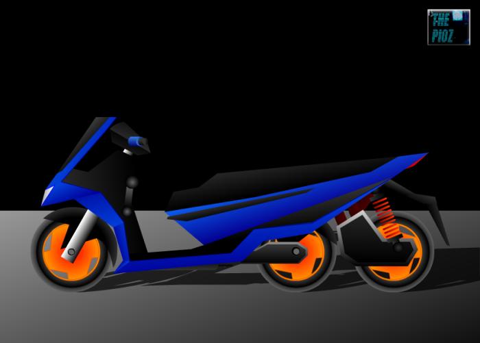 matic roda 3e blue