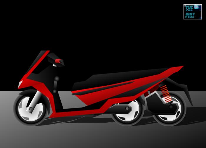 matic roda 3e red