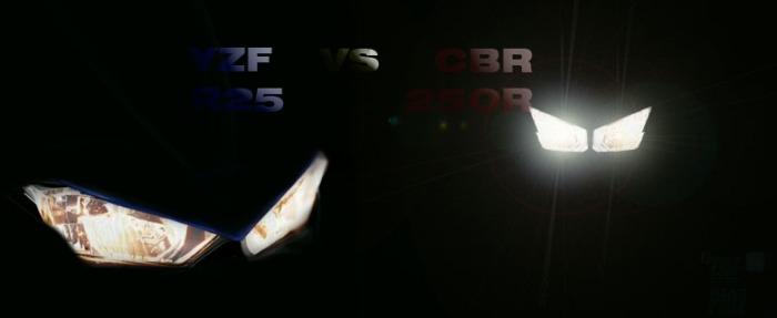 r25 vs cbr250
