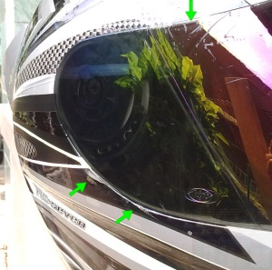 helm kyt setelah jatuh