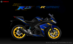 Yamaha r25 Blue & Yellow_6