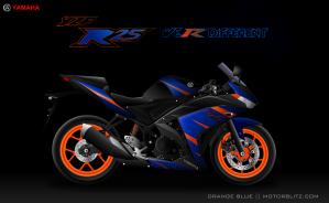 Yamaha r25_orangeBlue