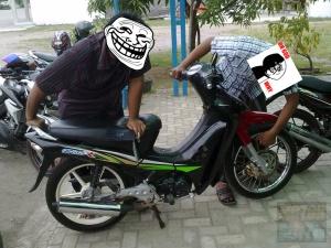 beli motor blitz