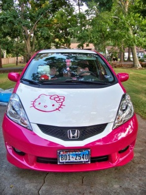 Honda Jazz Hello Kitty