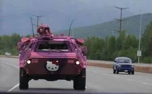 hummer Hello Kitty