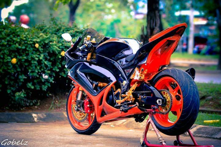 Top modifikasi byson menjadi motor sport