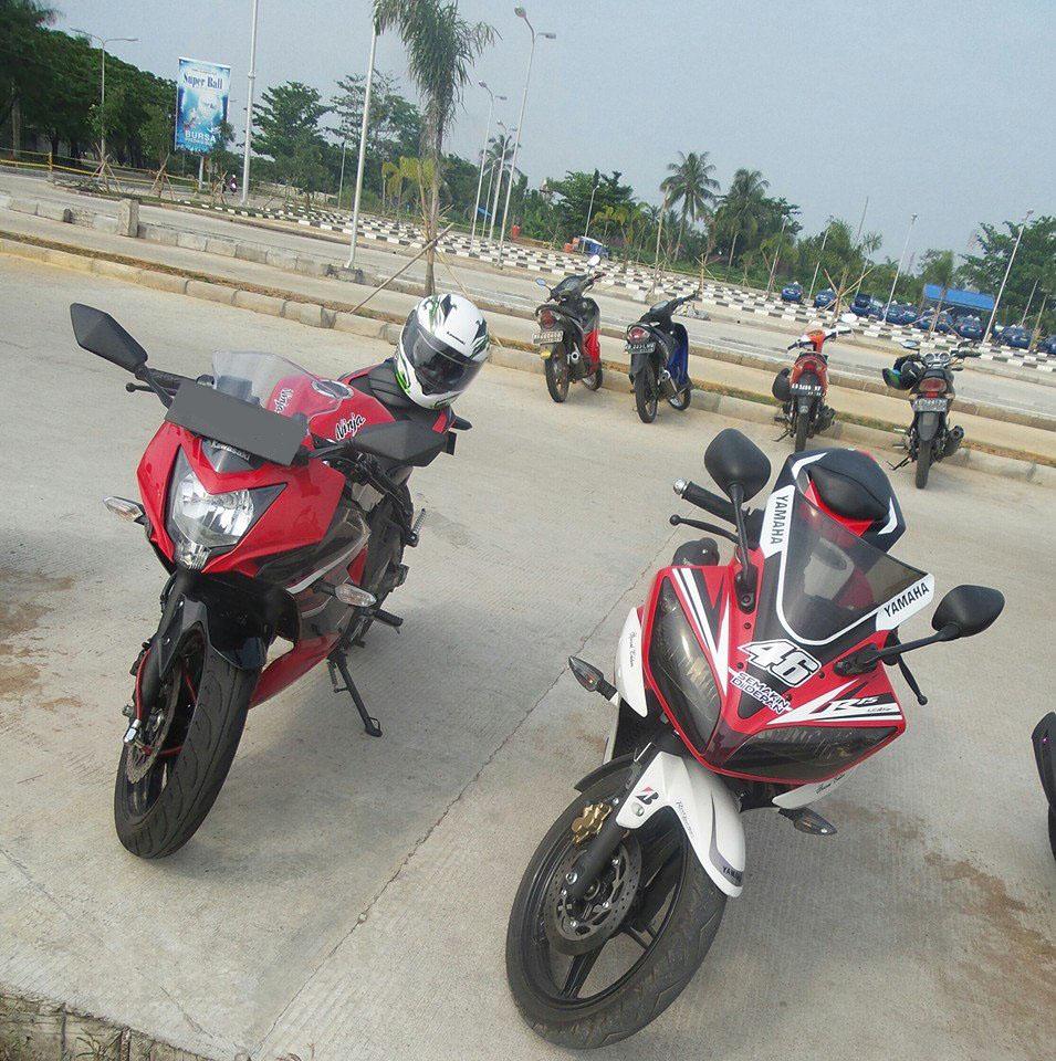 Download Modifikasi Motor Ninja 250 Rr Mono Terbaru Obeng Undertail Atau Perbandingan Dimensi Kawasaki Dan Yamaha R15