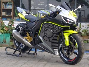 ninja black yellow  lent automodified