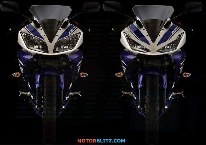 skotlet lampu Yamaha R15zb