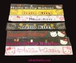 Stiker-besar hello kitty  P x L  90cm x 13 cm 75 ribu
