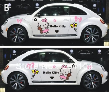 Suzuki-Swift-font-b-VW-b-font-Polo-Toyota-Hyundai-KIA-PVC-hello-kitty-car-body