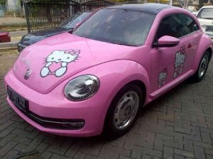 vw Hello Kitty
