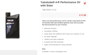yamalube 4-R eu uk