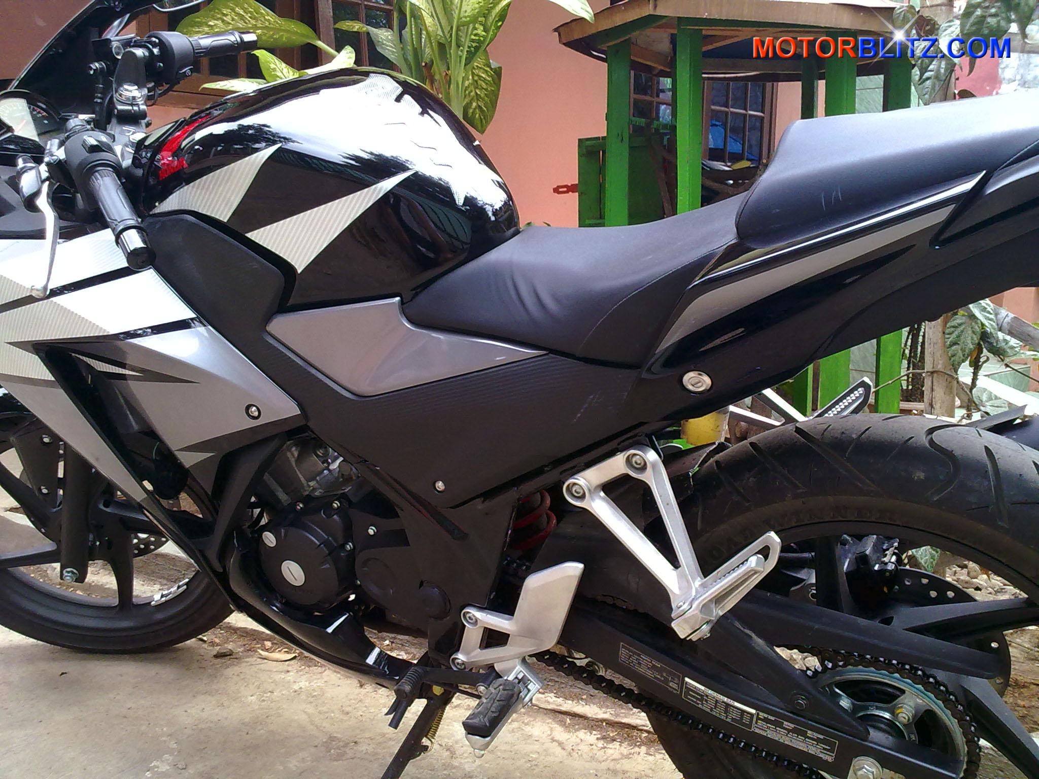 103 Modifikasi Motor Cbr 150r Warna Hitam Modifikasi Motor Honda