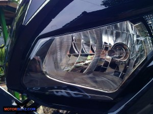all new cbr150r headlamp dual keen eyes 1