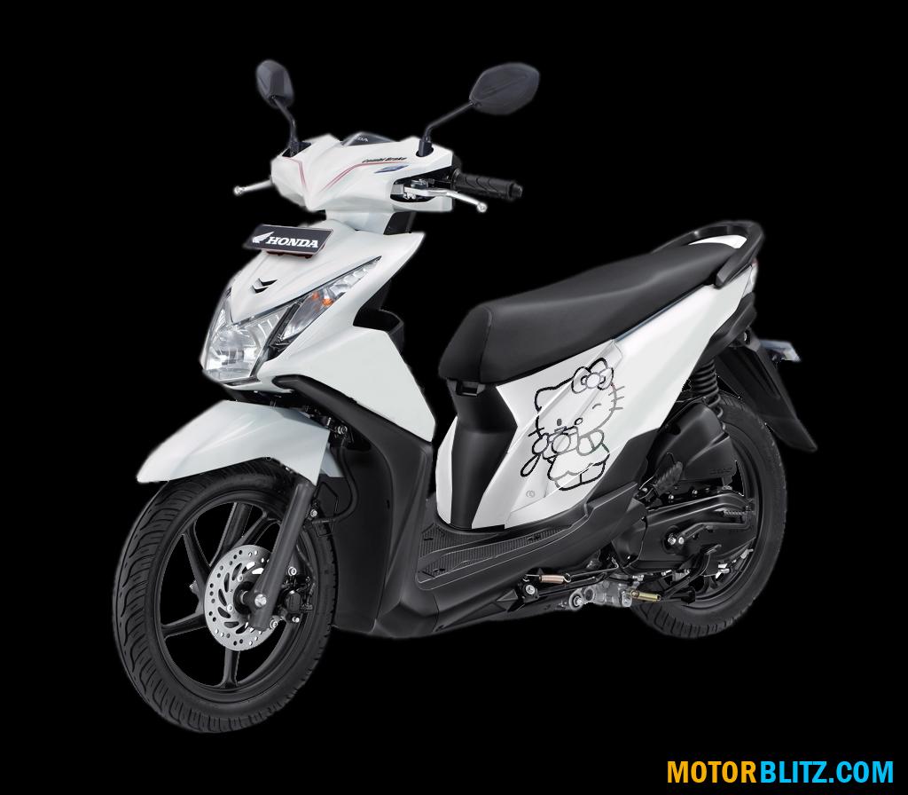 106 Modif Skotlet Honda Beat Fi Modifikasi Motor Beat Terbaru