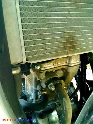 cbr150r radiator