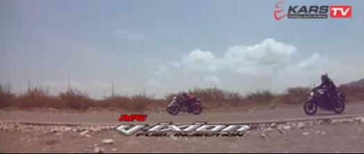 Drag Race Yamaha New Vixion VS Honda CB150R Streetfire 700 m race 4