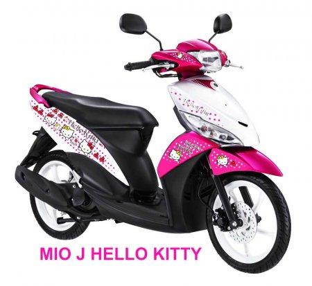 Modif Skotlet Hello Kitty Bikin Motor Tambah Pretty Motorblitz
