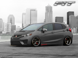 modification honda fit