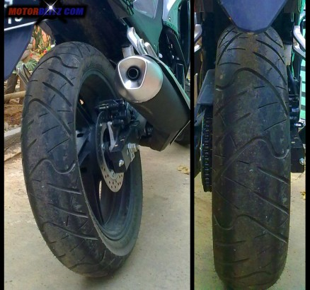 new cbr150 indonesia rear tire 140