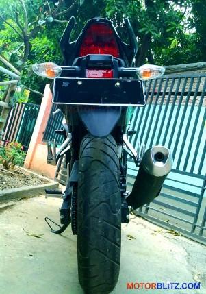 new cbr150r rear