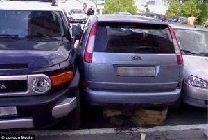 parkir geser dong