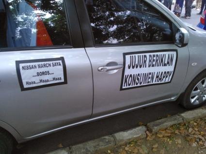 penjual mobil jujur