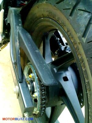 roda belakang new cbr150r