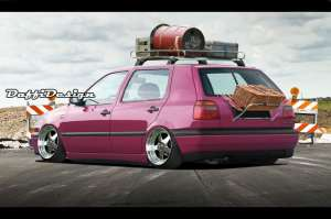 Volkswagen-Golf_III_1991modifikasi