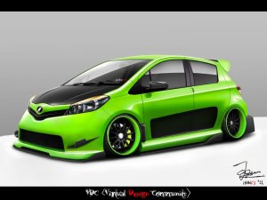 Yaris new modifikasi