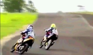 KYT Indoprix Indonesia 150 cc Topan vs jefri 2