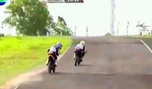 KYT Indoprix Indonesia 150 cc Topan vs jefri 3