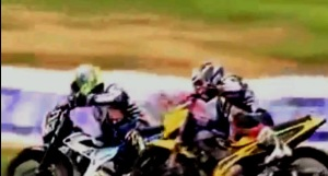 KYT Indoprix Indonesia 150 cc Topan vs jefri