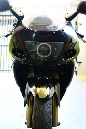 ninja 150 rr black front