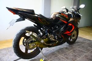 ninja 150 rr black