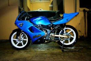 ninja 150 rr blue