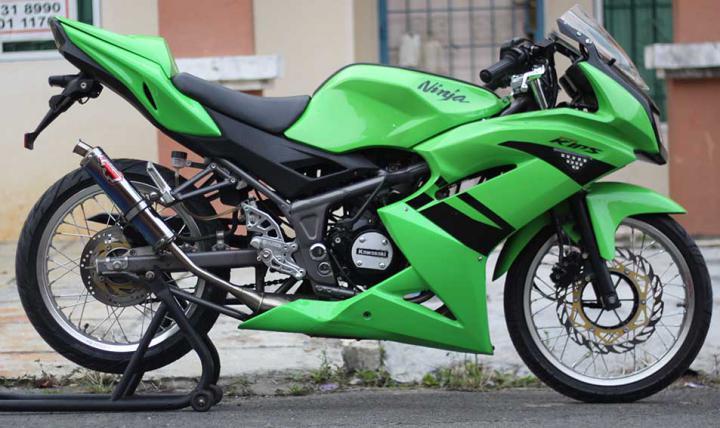 Ninja 150 Velg Jari Motorblitz