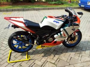 ninja150rr  bw