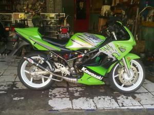 ninja150rr green