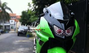 ninja150rr hijau
