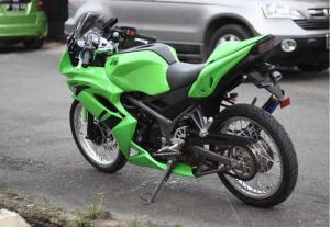 ninja150rr hijauu