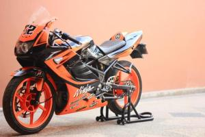 ninja150rr  orange