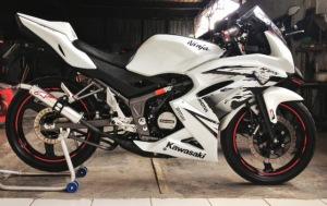 ninja150rr  putih