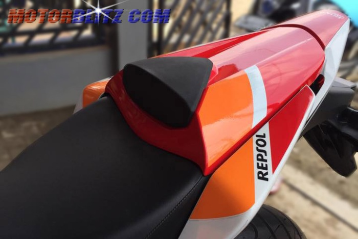 single seater aksesoris ori cbr lokal