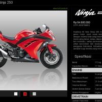 Spesifikasi dan Harga Kawasaki Ninja 250, Ninja 250 SE, dan Z250.