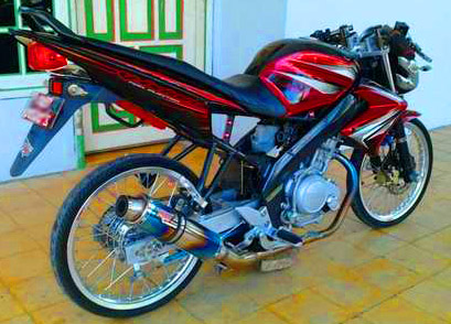 Vixion Thailand Look Modif Motorblitz