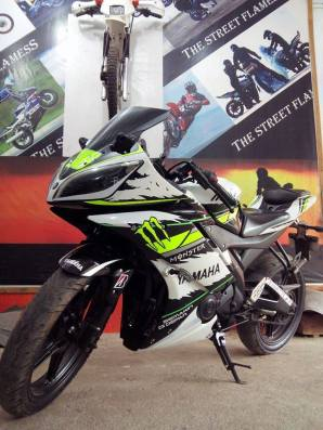 yamaha r15 striping stiker modif