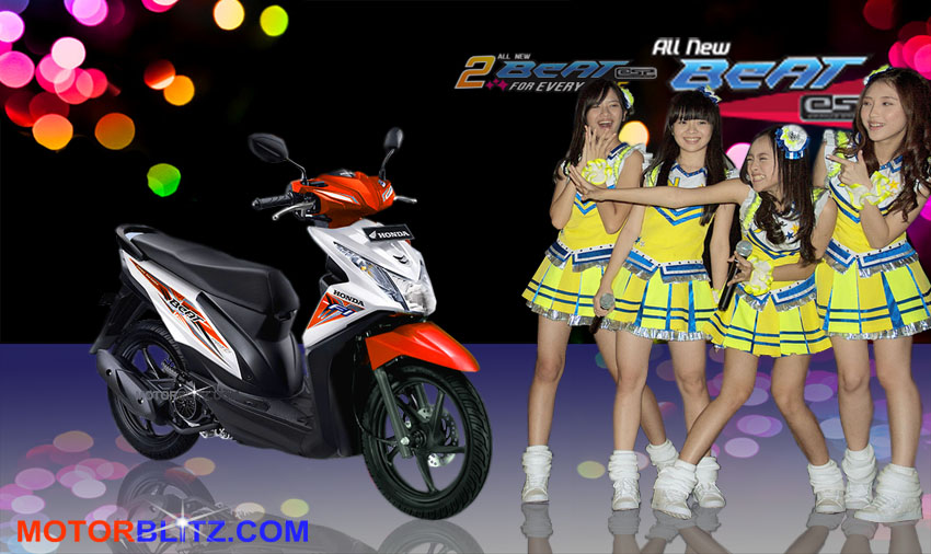 Warna Warni New Honda Beat Esp With Nabilah Melody Yupi Jkt48